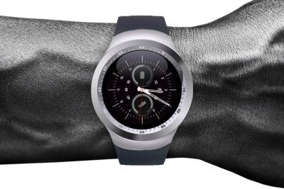 Shan Micromax Canvas Elanza A93 Silver Smartwatch