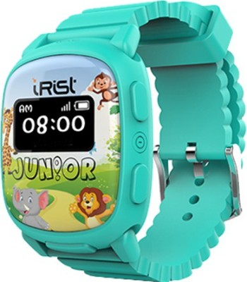 Intex iRist JUNIOR Turquoise Blue Smartwatch(Blue Strap Regular) at flipkart