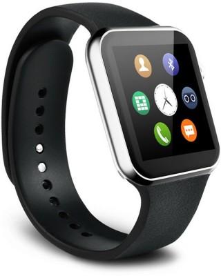 epresent Bluetooth Black Smartwatch(Black Strap Regular) at flipkart