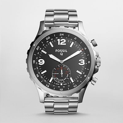 Fossil FTW1123 Q NATE Watch - For Men & Women 1