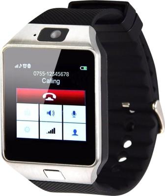Aja Retail DZ10 phone Black Smartwatch(Black Strap Regular)