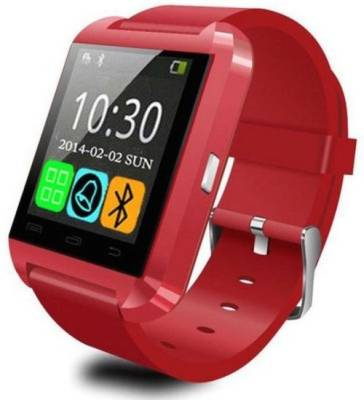 MM U8 for Android phone Bluetooth Red Smartwatch