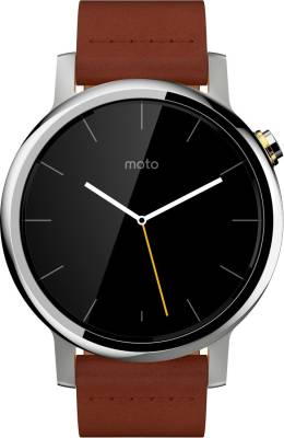 Motorola Moto 360 2nd Gen (46 mm) for Men Cognac Smartwatch