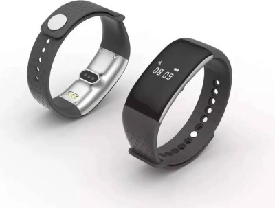 FLIPFIT PD43 Fitness Smartwatch(Black Strap Regular)