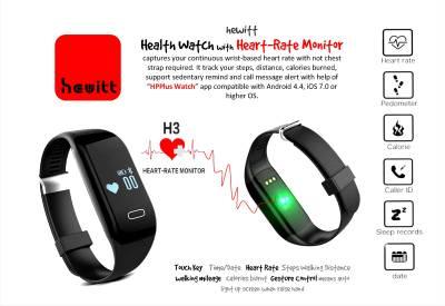 Hewitt Health Watch with Heart Censor Smartwatch