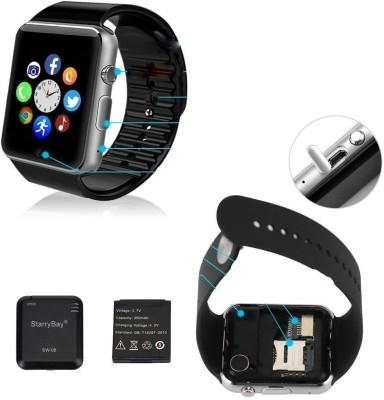 Shrih Phone With Camera Black Smartwatch(Black Strap Regular) at flipkart