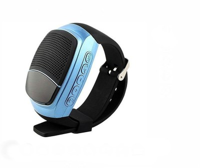 Shrih Bluetooth Wireless Watch Speaker with Mic Smartwatch(Black Strap Regular) 1
