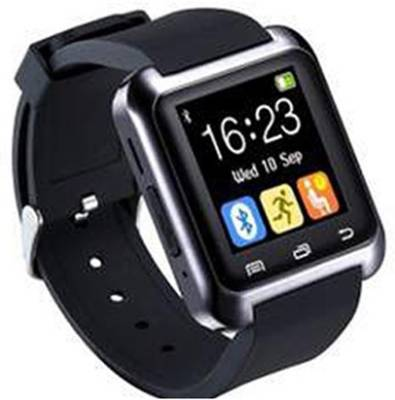 Empreus crt Black Smartwatch (Black Strap)