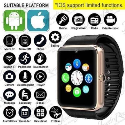 YGS Samsung Galaxy S7 Edge Gold Smartwatch