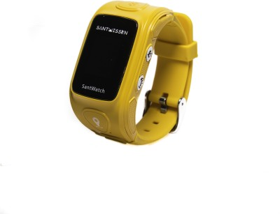 Santwissen ST-01 phone Yellow Smartwatch(Yellow Strap Regular) at flipkart