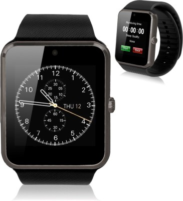 OUTSMART with Fitness Tracker,Bluetooth, Sim Card and Memory Card Slot Smartwatch(Black Strap Regular)