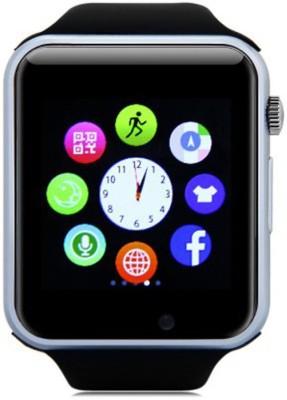 Callmate A1 Smartwatch(Black Strap Regular) at flipkart