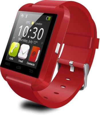 Style Feathers Smart Watch U8 Smartwatch(Red Strap Regular)
