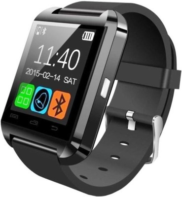 original U8 Smartwatch(Black Strap Regular)