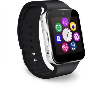 VibeX ™ GT 08 Bluetooth Touch Screen Phone Mate Black Smartwatch(Black Strap Regular) at flipkart