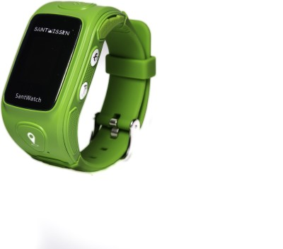 Santwissen ST-01 phone Green Smartwatch(Green Strap Regular) at flipkart