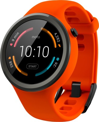 Motorola Moto 360 Sport Orange Smartwatch