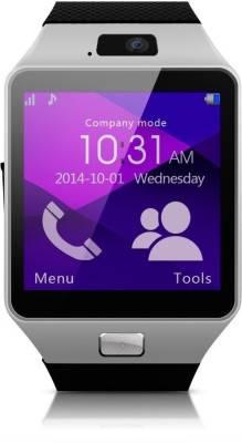 Aja Retail DZ09 Bluetooth, Sim, Memory Card Slot, Camera Fitness Tracker Black Smartwatch