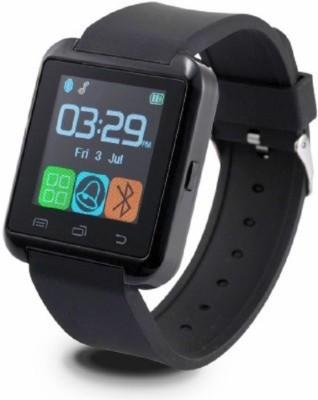 Aomax Bluetooth U8 Watch Black Smartwatch(Black Strap Regular) 1