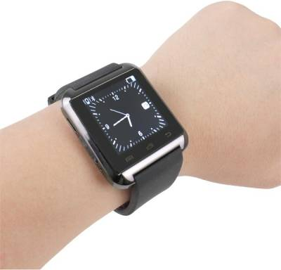BLUFURY BU8A Smartwatch (Black Strap)