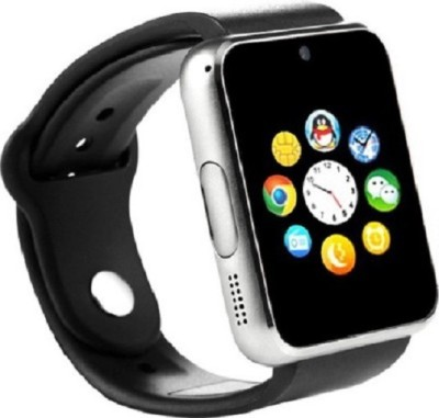 WDS WSM087C phone Smartwatch(Black Strap Regular) at flipkart