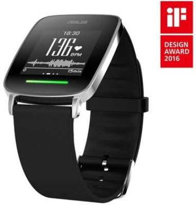 Asus Vivo Fitness Watch Black Smartwatch (Black Strap)