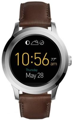 Fossil Q FOUNDER 2.0 TOUCHSCREEN DARK BROWN LEATHER (For Men) Smartwatch(Brown Strap Regular) at flipkart