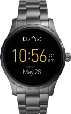 Fossil Marshall (For Men) Smoke Smartwatch(Grey Strap Regular) at flipkart