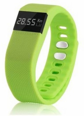 eShop24x7 Health Tracker Gym Sport Smartwatch(Green Strap Regular) 1