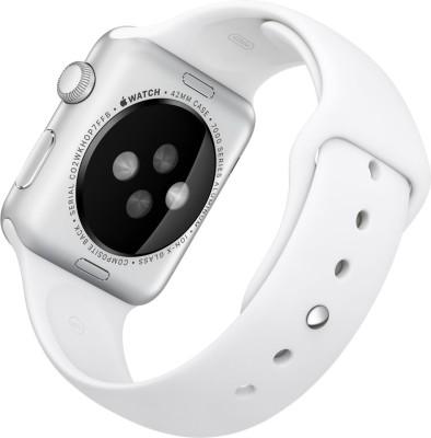 Apple-Watch-Sport-Silver-Aluminium-case-white-sport-Band-42mm