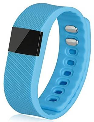 OPTA Bluetooth fitness tracker for Android/IOS Mobile Smartwatch (Blue Strap)