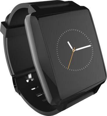 Intex IRIST PRO Black Smartwatch(Black Strap Regular)