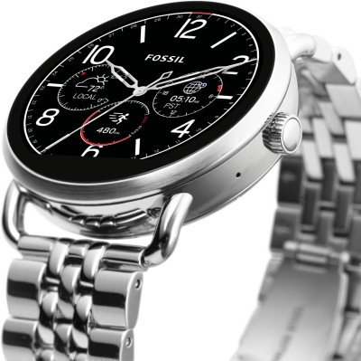 Fossil metal smartwatch image