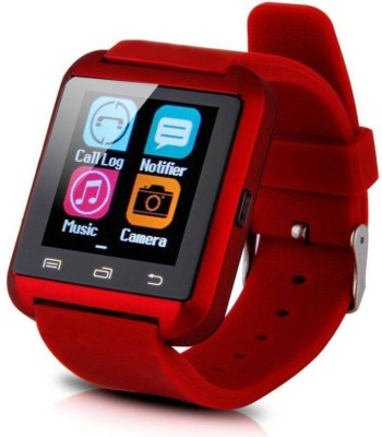 A Connect Z U8Red501-06 phone Smartwatch(Red Strap Regular) 1