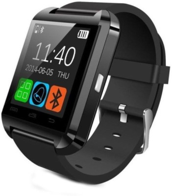 costech u8 Smartwatch(Black Strap Regular)