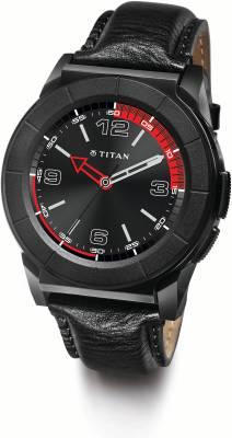 Titan Juxt Pro Black Smartwatch