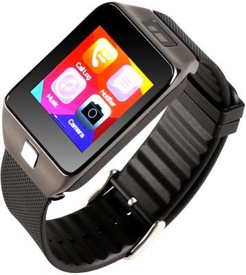 Attire Heart Rate Smartwatch(Black Strap Large) 1