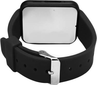 PremK New Black Smartwatch (Black Strap S)