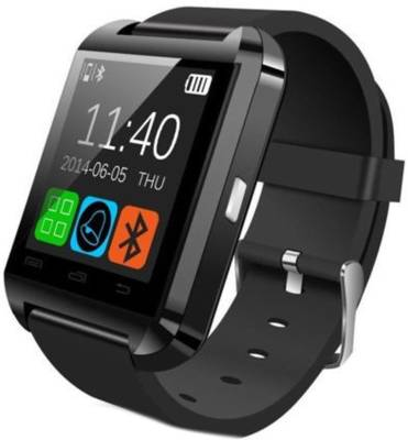 PRS For HTC 626 Black Smartwatch (Black Strap L)