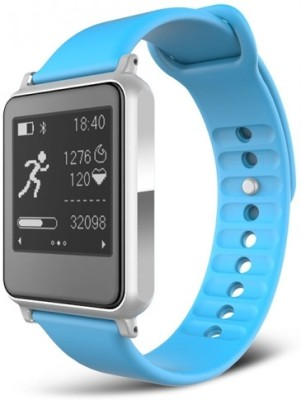 iwown Limited edition premium i7 Fit Blue with heart rate Smartwatch Smartwatch(Blue Strap Regular) at flipkart