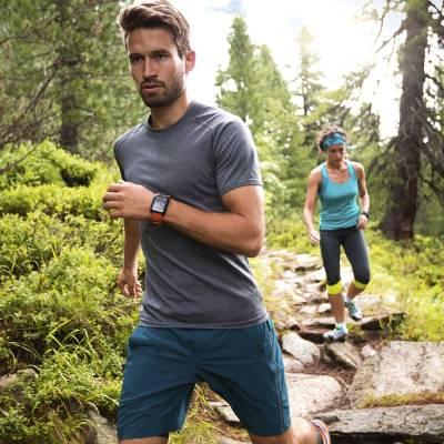 TomTom Adventurer Cardio, GPS Fitness Watch with Heart Rate Monitor Orange Smartwatch