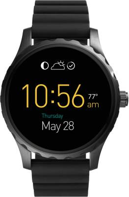 Fossil Marshall For Men Black Smartwatch