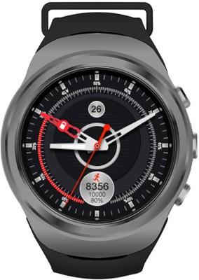 Noise LOOP Black Smartwatch(Black Strap Regular) at flipkart