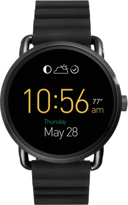 Fossil Wander RG (For Women) Black Smartwatch(Black Strap Medium) at flipkart