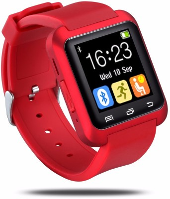Bbroz U8 Red Smartwatch(Red Strap Regular)