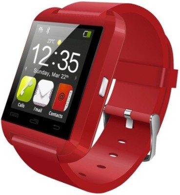 Niki SmartWatch Red Smartwatch(Red Strap Regular) 1