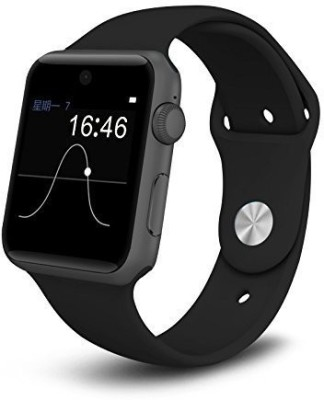 VCS T50-S-BLK Silver Smartwatch(Black Strap Medium) at flipkart