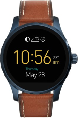 Fossil Marshall (For Men) Dark Brown Smartwatch(Brown Strap Regular) at flipkart