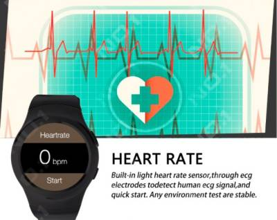 CELESTECH CSTX3 with Heart rate Monitor, SIM Card, Fitness Tracker, Bluetooth Smartwatch