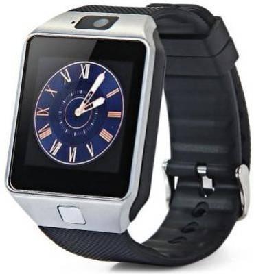 POWR DZ09 Smartwatch (Black Strap)